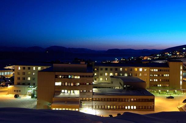 Bilde av Hammerfest sykehus