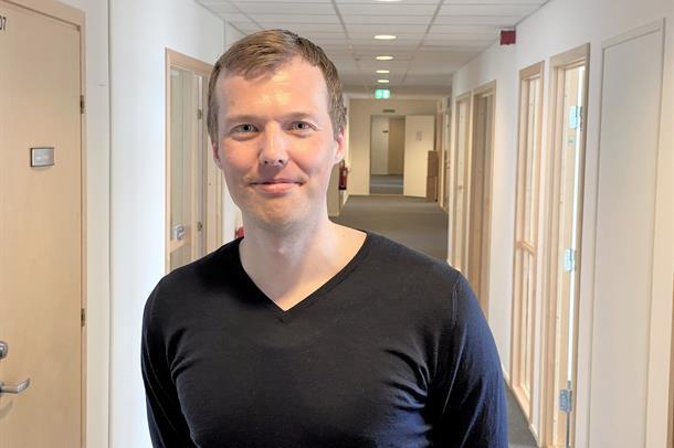 Portrett av Andreas Ertesvåg.