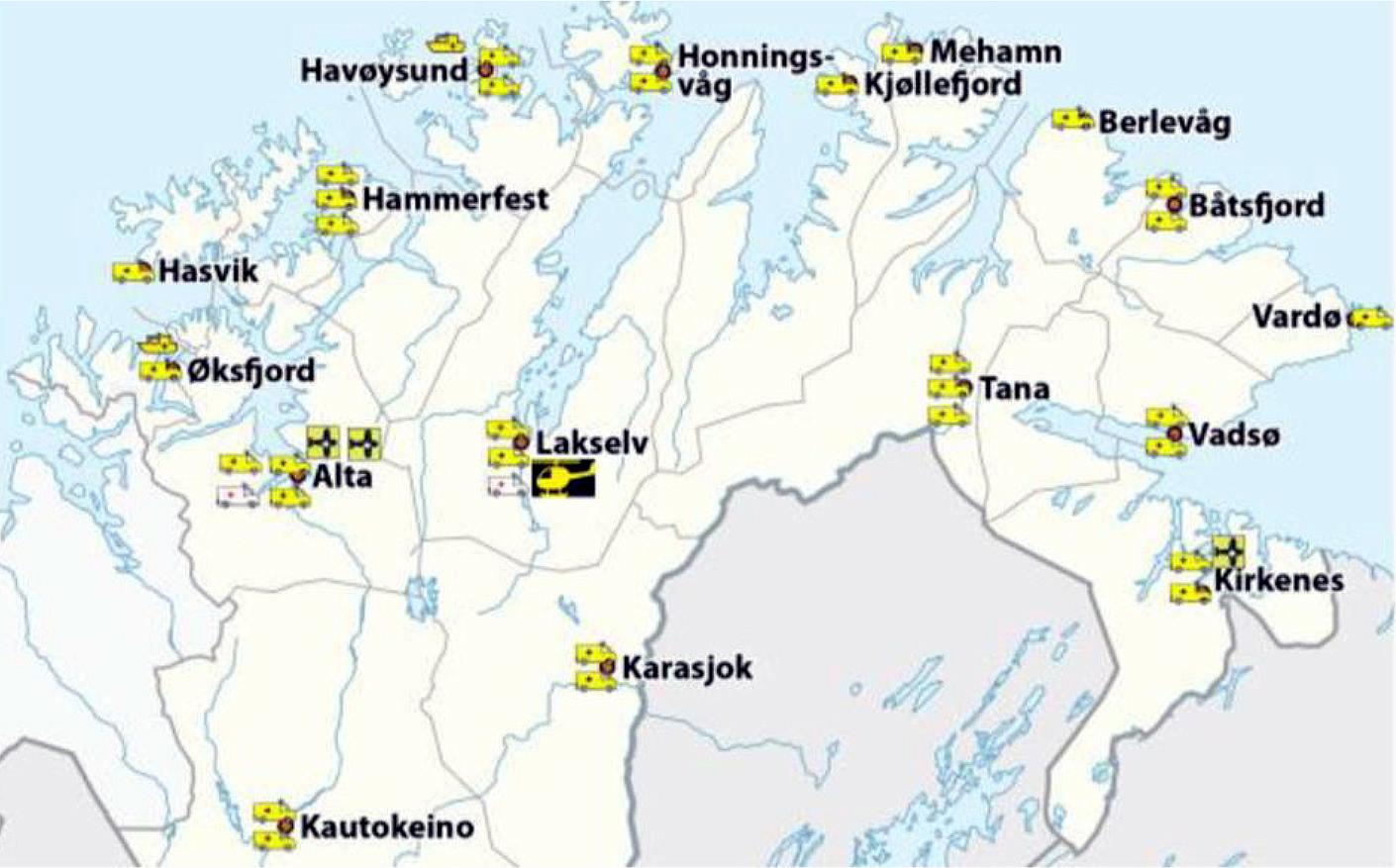 Slik Er Responstiden Finnmarkssykehuset