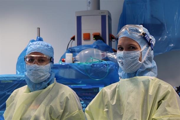 bilde av ansatte ved Kirkenes sykehus