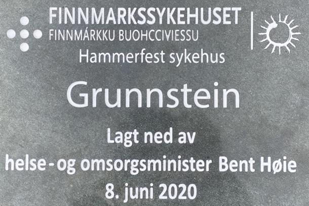 grunnstein nye Hammerfest sykehus - foto Eirik Palm.jpg